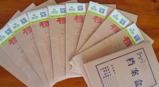 上海居住证积分调档案
