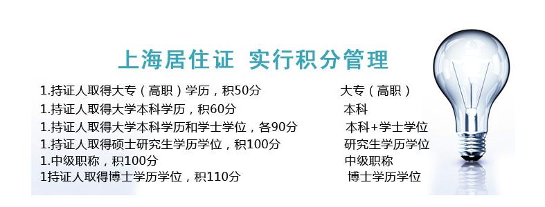 我是成人教育本科学历可以参加上海居住证的积分吗